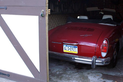 Ghia in the garage