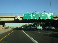 Eastbound Interstate 10 @ 16th Street in Phoenix, AZ (Reto Kurmann) Tags: arizona usa phoenix highway autobahn interstate interstate10 carpoollane hovlane