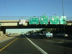 Eastbound Interstate 10 @ 16th Street in Phoenix, AZ (Reto Kurmann) Tags: arizona usa phoenix highway autobahn interstate interstate10 carpoollane hovlane