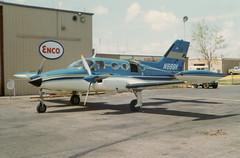 Cessna 421 (twm1340) Tags: aircraft wichitafalls passenger prop cessna sps enco 421 n888k
