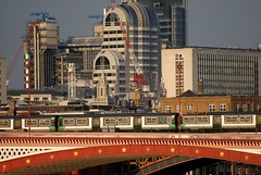City View (Markle1) Tags: city uk bridge england building london train lloyds cityoflondon