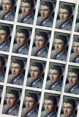 James Stewart U.S. Postal Stamps (Violentz) Tags: man male guy art stamps vertigo rope harvey moviestar letter rearwindow postal itsawonderfullife usps collecting jimmystewart 41 collectable jamesstewart stampcollecting unitedstatespostalservice postalstamps 41cents uspostagestamps
