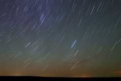 Pawnee Big Sky Star Trails (Fort Photo) Tags: longexposure sky night dark stars landscape bravo colorado nightscape nocturnal weld astrophotography co prairie minimalism grassland nocturne minimalist grasslands afterdark startrails 2007 neco pawnee starstreaks naturesfinest pawneenationalgrassland flickrsbest mywinners diamondclassphotographer