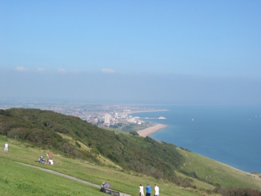 the view of eastbourne