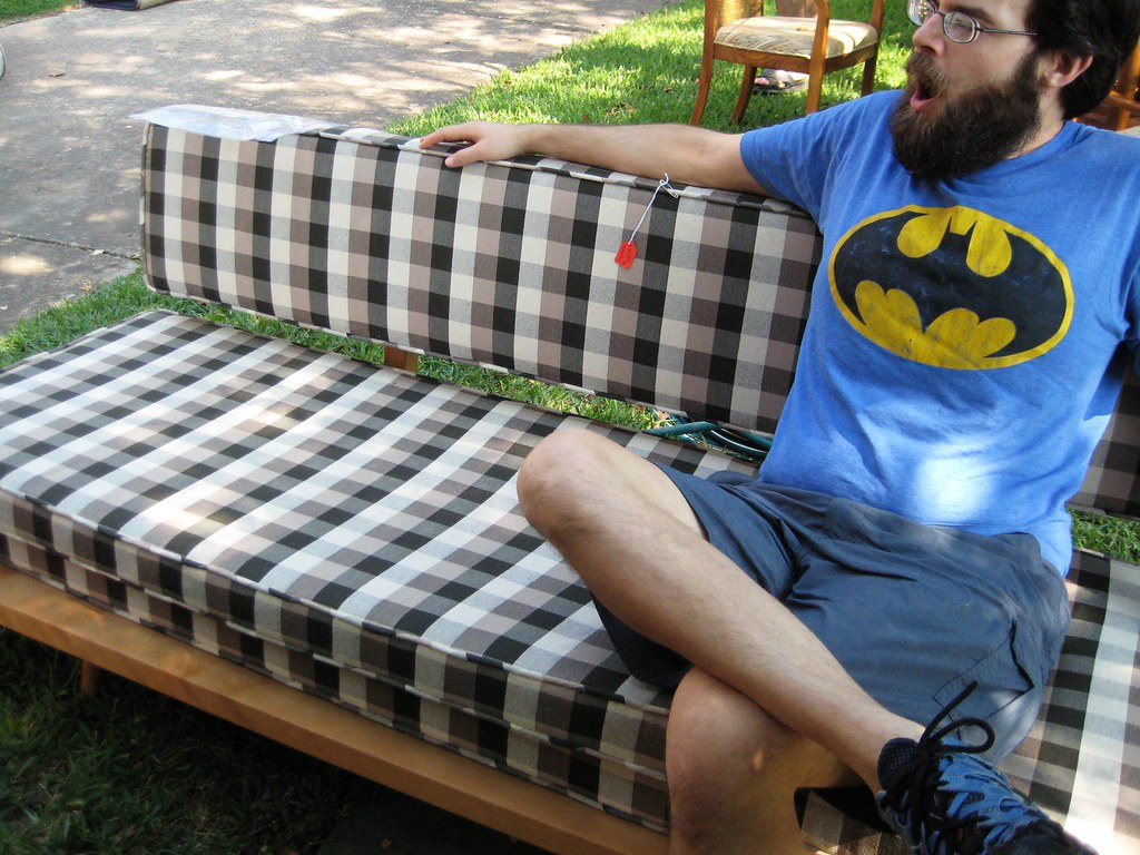 mason's parents bought some amazing furniture