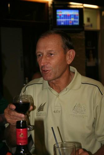 Victor Kovalenko visit Darwin Sailing Club