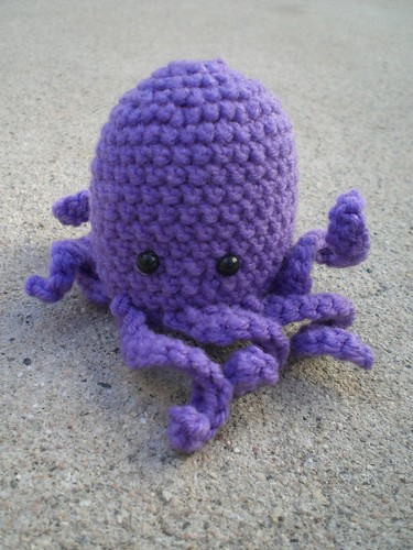 Purple Octopus Amigurumi