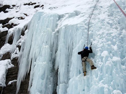 Cascade et ski de rando avec JY 049