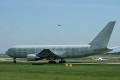 G-SJET Silverjet Boeing 767-200 (elevationair ✈) Tags: boeing avp 767 airliners ringway silverjet 762 manchesterinternationalairport gsjet transfer32007 aviationaviewingpark