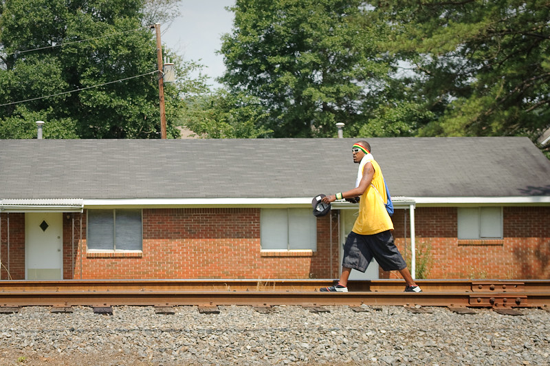 Day 256: Center of the Tracks