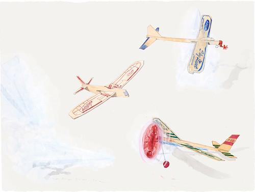 "Paul Madonna ""Balsa Planes #4"""
