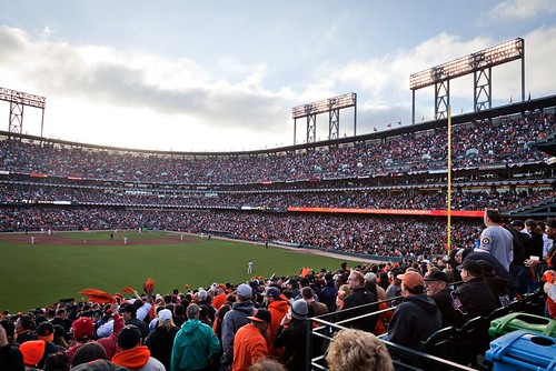 San Francisco's AT&T Park (by: randychiu, creative commons license)