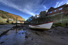 Beached at Staithes