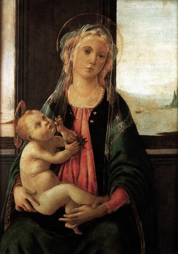 Madonna del Mare Sandro Botticelli