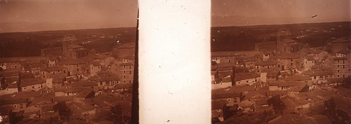 Arrabal y Puerta de Bisagra en los años 20. Fotografía de Ángel del Campo Cerdán