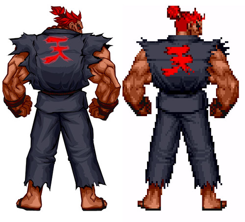 Street Fighter HD Remix Akuma