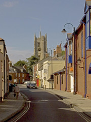 Devizes town centre, Wiltshire, UK (Old Londoner) Tags: county street city uk england english architecture buildings town britain country cities british wiltshire devizes counties
