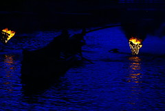 Summer cormorant fishing at Uji river (aurelio.asiain) Tags: blue beauty japan azul night kyoto explore   uji interstingness i500  cormoranfishing aurelioasiain anawesomeshot colorphotoaward ionushi highest274onsunjune242007 margendelyodo