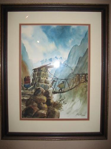 Kalin Bridge Painting