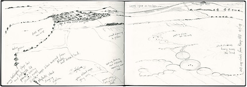 Knap Hill sketch