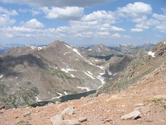 Bierstadt and Abyss Lake (doubt72) Tags: evans colorado hiking 14er mtevans