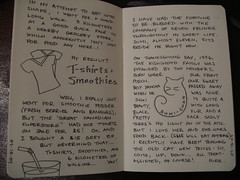07.15.07 - 07.16.07 (chicgeekuk) Tags: laura moleskine pen ink writing cat notebook sticker fuzzy walk journal tshirt tricks felines grocery smoothie sumi kishimoto yancha laurakishimoto laurakishimotoca