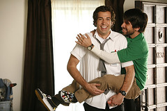 Morgan and Chuck (nbcchuck) Tags: nbc levi chuck zachary fansite bartowski