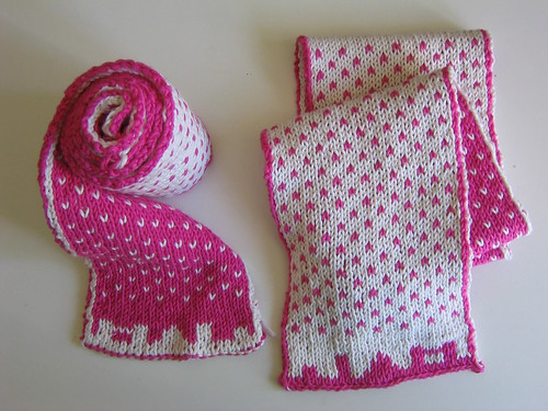 Knitting Pattern Scarf Double Knit : 1000+ images about Knitting; Double Sided on Pinterest Double knitting, Rav...