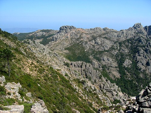 Entre Morellu et Arghjetu: le versant en traversée, Capellucciu et Capellu