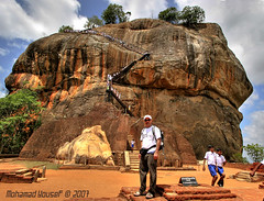 Sigiriya Rock, Sri Lanka (dawey [Mohammad Alhameed]) Tags: city travel light people green 20d rock lights asia asien cloudy canon20d prayer sri srilanka ceylon usm dslr  mohammad familytrip sandisk 2007 eos20d compactflash sirlanka sigiriya mohanad voluntary  yousef mohamad canonefs1022mmf3545usm canon1022mm  sigiriyarock picturecollection conon vwc flickrsbest     conon20d dawey  kuwaitvoluntaryworkcenter  photovwc kuwaitvwc