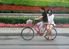 In bicicletta. Cina. Pechino. - by Zingaro. I am a gipsy too.