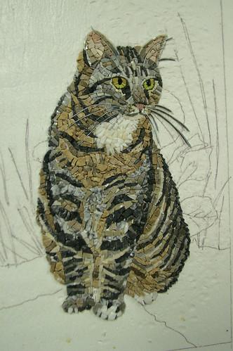 Mosaic Animals Mosaic Cat Sculpture Amp Panels Ntfcreative