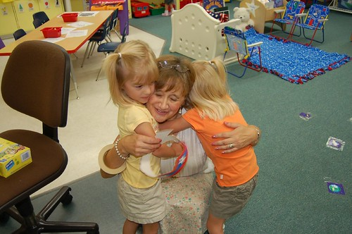 A hug from Mrs. P!
