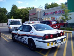 Emergency vehicles at the Merivale Road Food Basics... (Steve Brandon) Tags: auto ontario canada ford car geotagged automobile gm ottawa voiture supermarket ambulance suburb rogers grocerystore nepean dollarstore generalmotors picerie  supermarch  chevroletimpala chevyimpala emergencyvehicles foodbasics superduty dollarblitz 4177 fordmotorcompany gmfyi merivaleroad e450   ottawaparamedicservice a30909