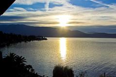Gardone Riviera at dusk (faxao) Tags: boats garda sailing barche vela ishares centomiglia extreme40