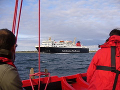 MV Isle of Lewis from Jubilee, again (Michael Maclean) Tags: scotland sailing jubilee calmac isleoflewis hebrides stornoway ansulaire