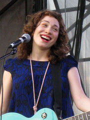 Regina Spektor at ACL Music Festival--a big smile for her fans (jmtimages) Tags: summer music smile festival female austin happy concert texas emotion live livemusic september explore singer entertainer popular soulful ballad acl aclfest austincitylimits zilkerpark 2007 folksinger reginaspektor aclmusicfestival