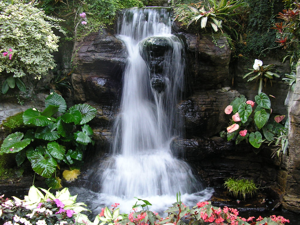 Indoor waterfall Gaylord Opryland Hotel Nashville