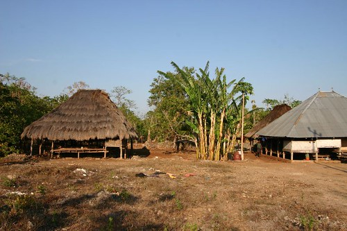 Traditional houses on Sumba, Eastern Nusa Tenggara, Indonesia.