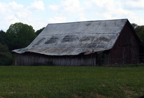 Believe it or not, a Rock City Barn