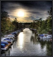 Autumn (Kaj Bjurman) Tags: autumn water backlight canon boats eos sweden stockholm hdr kaj 2007 lngholmen 40d bjurman