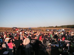 crowd, demolition derby