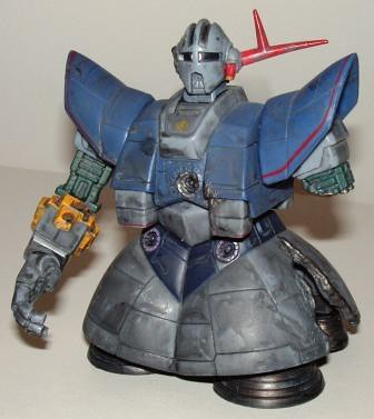 MSN-06 Zeong Battle Scarred Gundam b by you.