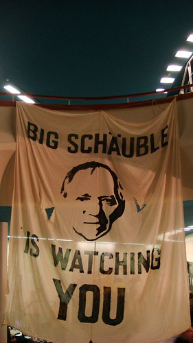 25C3: Schäuble is watching you