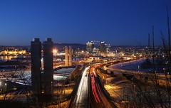 Nordover II (evbjone) Tags: city urban oslo lights highway roads pfogold