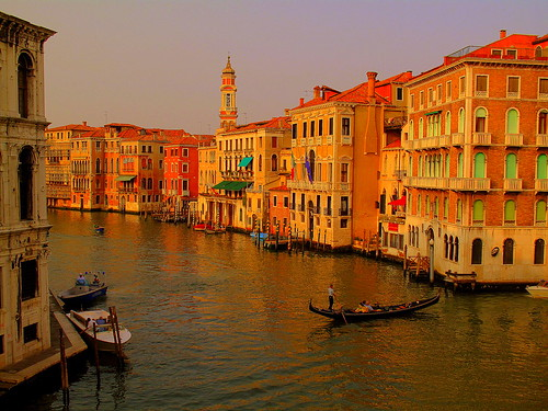 Colorful Canals of Venice