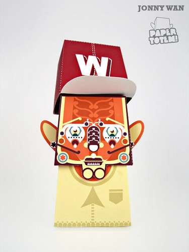 Paper Totem! x Jonny Wan