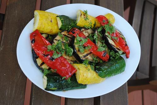 vegetables-harissa-dressing