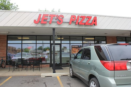 Jet's Pizza in Gaslight Village, East Grand Rapids, MI