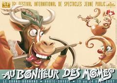 Affiche Festival Au Bonheur des Momes-2007